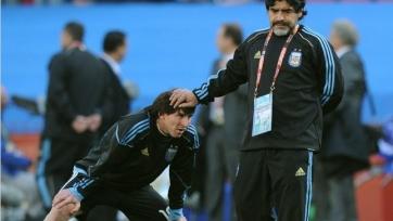 Диего Марадона призывает журналистов не нянчиться с Месси