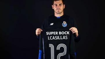 Касильяс представлен в качестве футболиста «Порту»
