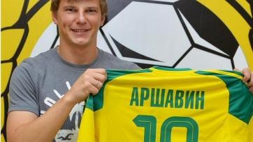 Аршавин выбрал себе 19-й номер