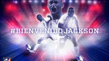 «Атлетико» подтвердил покупку Джексона Мартинеса