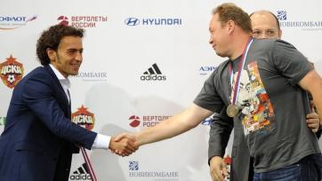 Бабаев надеется на то, что ЦСКА вернет себе чемпионский титул