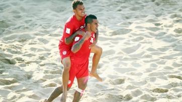 ЧМ. Пляжный футбол. Таити выходит в полуфинал