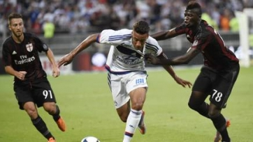 «Лион» обыграл «Милан» в товарищеской встрече