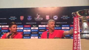 Венгер: «В матче с «Эвертоном» мы сыграли просто шикарно»