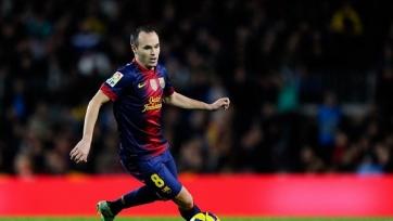 Иньеста: «Барселона» попытается дважды сделать «требл»