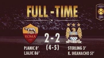 Международный кубок чемпионов. На сей раз «Рома» в серии пенальти проиграла