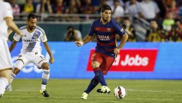 «Барселона» выиграла у «ЛА Гэлакси» благодаря голам Суареса и Роберто