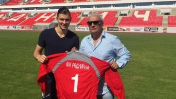 Голкипер «Астрахани» продолжит карьеру в Сербии