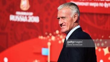 Дидье Дешам не считает сборную Франции фаворитом