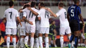 «Реал» разобрался с «Интером»