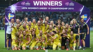 Женская сборная Швеции U-19 выиграла Чемпионат Европы