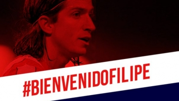 Официально: Филипе Луис вернулся в «Атлетико»
