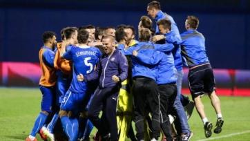 Загребское «Динамо» сыграло вничью с «Мольде»