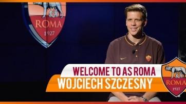 Официально: Войцех Щенсны продолжит карьеру в «Роме»