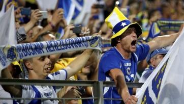 УЕФА наказала сборную Боснии и Герцеговины