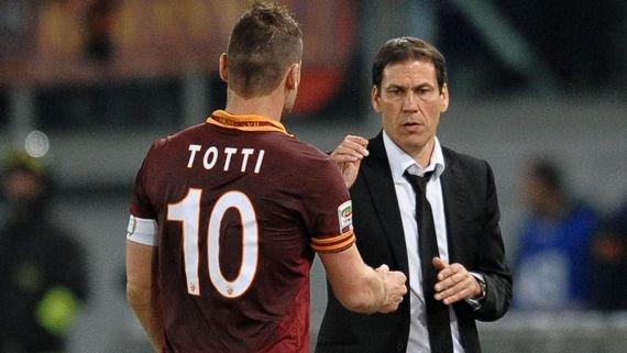 Капитан запаса. Встанет ли Франческо Тотти с лавки?