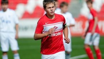 «Аякс» интересуется полузащитником юношеской сборной России