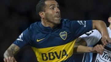 Карлос Тевес забил первый гол в составе «Боки»