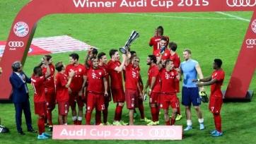 Audi Cup-2015: «Бавария» выиграла в финале у «Реала»