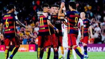 «Барселона» выиграла Кубок Гампера