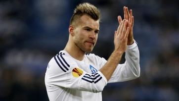 Ярмоленко: «В Лиге чемпионов хочу сыграть с «Реалом» и «Челси»