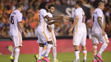 «Рома» выиграла у «Валенсии»