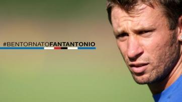 Официально: Антонио Кассано – игрок «Сампдории»