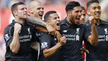 «Ливерпуль» вымучил победу в матче со «Сток Сити»
