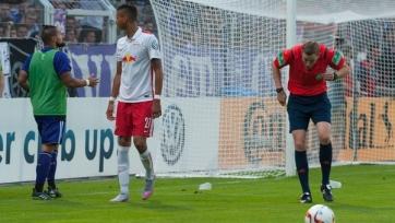 Матч «Оснабрюк» - «Лейпциг» был прерван из-за болельщиков
