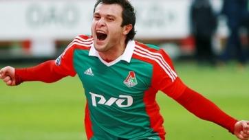Касаев: «Готов играть в «Локомотиве» ещё много лет»