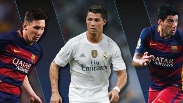 Месси, Роналду и Суарес претендуют на звание лучшего футболиста Европы