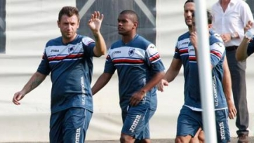Антонио Кассано вернулся на поле