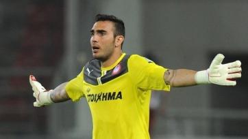 «Арсенал» положил глаз на вратаря «Олимпиакоса»