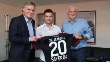 Официально: Арангис стал игроком «Байера»