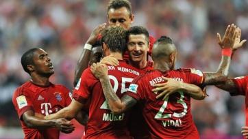 «Бавария» начала сезон с разгрома «Гамбурга»