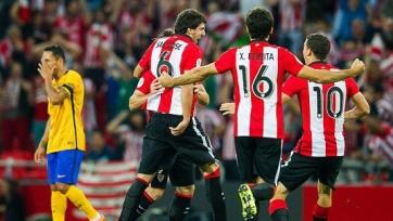 «Атлетик» разгромил «Барселону» в первом матче Суперкубка Испании