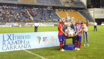 «Атлетико» выиграл трофей имени Рамона де Каррансы