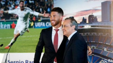 Рамос продлил соглашение и назначен капитаном «Реала»