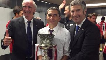 Эрнесто Вальверде: «Мы заслужили этот трофей»