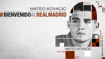 Официально: Матео Ковачич – футболист «Реала»