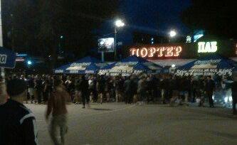 Фанаты киевского «Динамо» и «Легии» подрались в Киеве