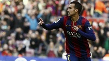 Педро не принимает участие в тренировке «Барселоны»