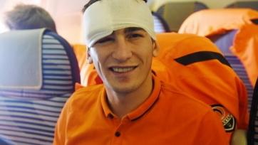Тарасу Степаненко наложили восемь швов