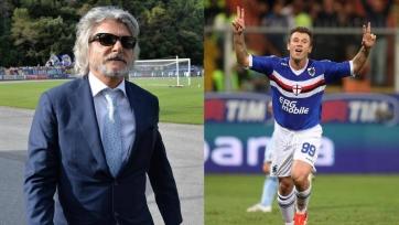 Ферреро: «Надеюсь, Кассано завершит карьеру именно в «Сампдории»