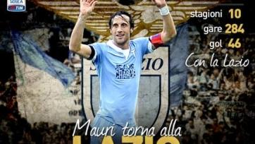 Официально: Стефано Маури вернулся в «Лацио»