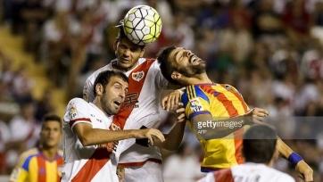 «Райо Вальекано» и «Валенсия» не выявили победителя