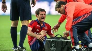 Алан Дзагоев может успеть восстановиться к матчу Лиги чемпионов