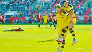 «Боруссия» преподала урок футбола новичку