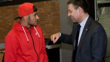 Бартомеу: «Мы хотим, чтобы Неймар завершил карьеру в «Барселоне»