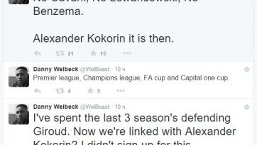 Фаны «Арсенала» высмеяли перспективу перехода Кокорина в лондонский клуб